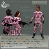 D1&MTG - ACU- Uniform - Pink