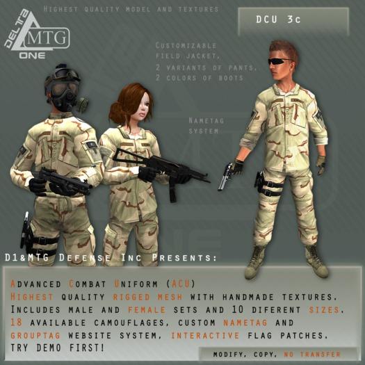 D1&MTG - ACU- Uniform - DCU3c
