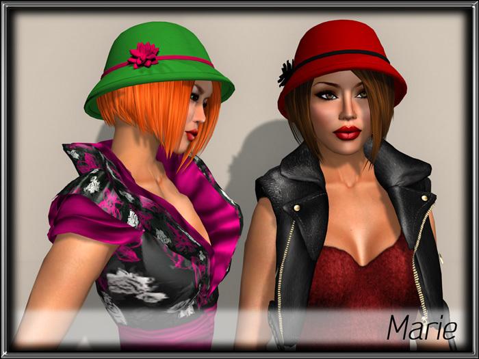 - MPP Hair - Marie - Red