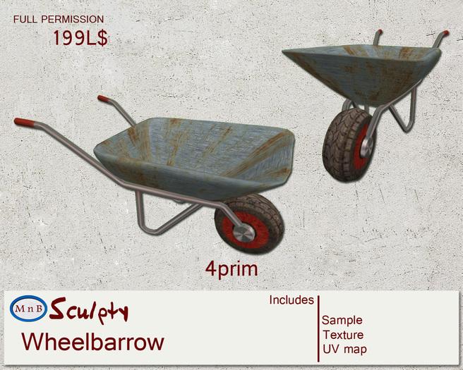 *~M`n B~* Wheelbarrow (box)