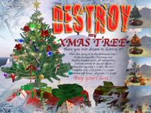 *Xmas* Destroy My Christmas Tree - the Game !