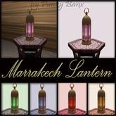 Moroccan Lantern Marrakech Model 1 Prim Mesh