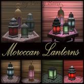 Moroccan Lanterns Set 1 Prim Mesh