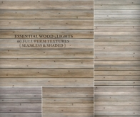 Essential Wood - Lights { 60 full perm textures - seamless & shaded - 3 wood styles }