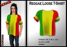 !PROMO!*GD* - Reggae Loose T-Shirt ::MESH