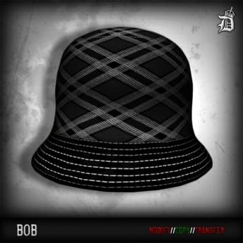 FREEBIE - DEF! Bob / Plaid / Black