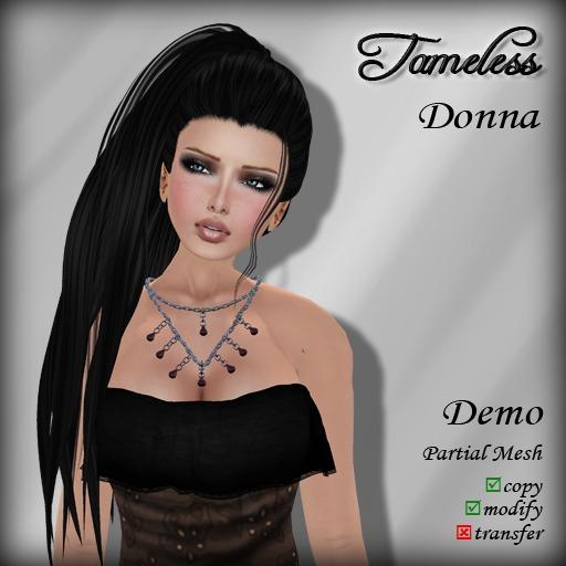 Tameless Hair Donna (MESH) - DEMO