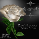 NSP Zuri's Perfect Cream Rose (boxed)