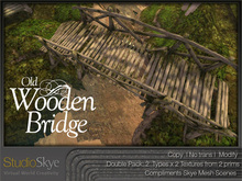 Old Wooden Bridge from Studio Skye 100% MESH
