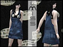 MissAvi Trendy Farmer Lady (Blue)