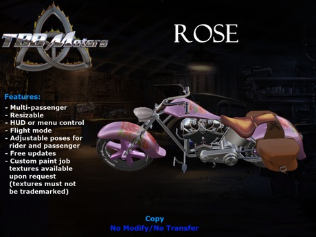 TBB Rose Custom Motorcycle