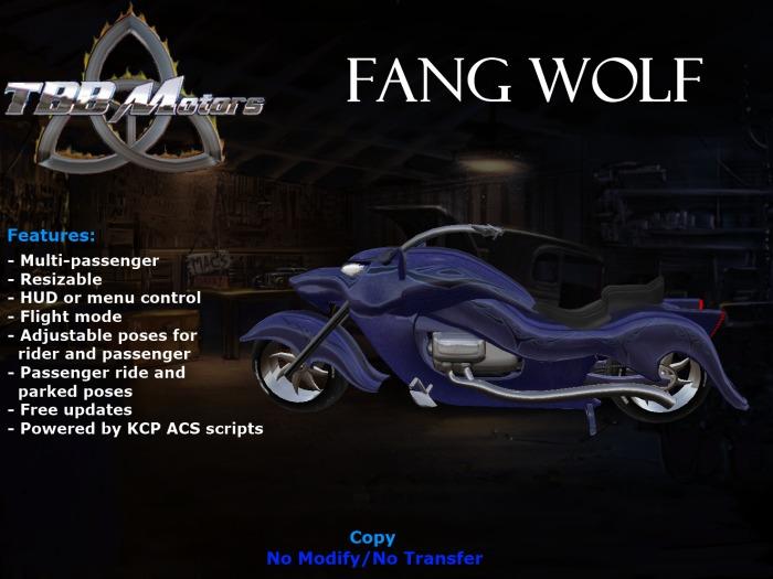 TBB Fang Wolf Custom Motorcycle