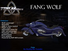 TBB Fang Wolf Custom Motorcycle