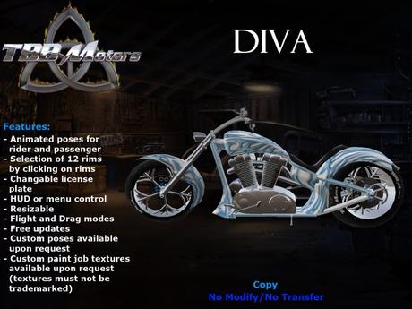 TBB Diva Custom Motorcycle