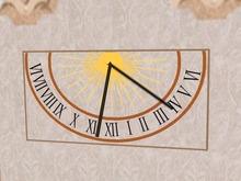 Working Sun Clock for Wall