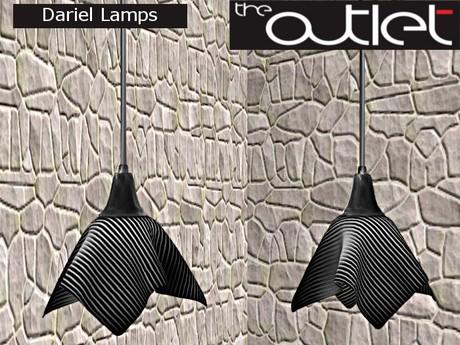 Outlet*-* Dariel Hanging Lamp