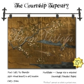 *PV* The Courtship Japanese Tapestry