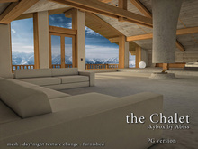 the Chalet by Abiss [PG] - Mesh prefab skybox day and night