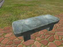 [SLB] Marble bench Relax v2 m/c