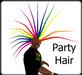 Rainbow - Rave Party Hair