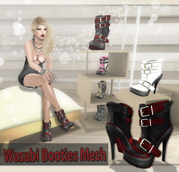 NS:: Wasabi Booties Mesh