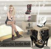 NS:: Cappuccino Booties Mesh