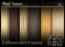<K&S> Wood texture (6 different textures) Full Perm.