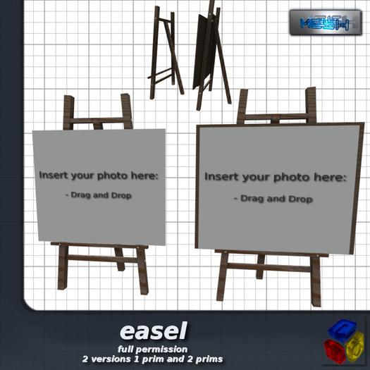 -LEO- easel -  GIFT