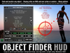 [ Object Finder HUD ] Find, localize, know details about any object / avatar