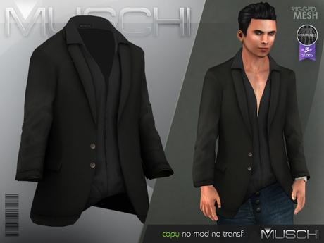 Casual Blazer Black - MUSCHI