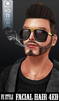 ::Fe Style:: DEMO - Facial Hair - 4ED -1