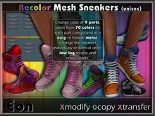 Recolor Sporty Mesh Sneakers ..:: EON ::..