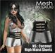 NS:: Coconut High Waist Shorts