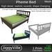 Pheme Bed - Full Perm 1 Prim