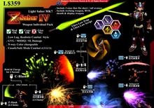 """*D&D* ZS7- Light Saber MK7 """"Z Saber IV"""" (Boxed)"""