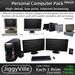 Personal Computer Pack - Full Perm 1 Prim