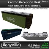 Carlton Reception Desk - Full Perm 1 Prim