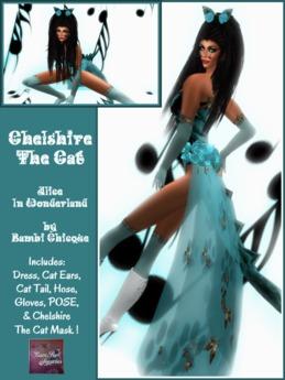 CHELSHIRE SEXY CAT wResizers & Pose
