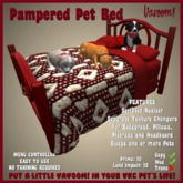 Pampered Pet Bed by Vavoom! - Supplies for Virtual Kennel Club (VKC®) Pets - No Training Required - Dog Bed - Cat Bed