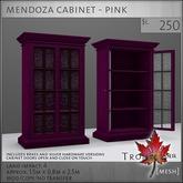 Trompe Loeil - Mendoza Cabinet Pink [mesh]