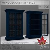 Trompe Loeil - Mendoza Cabinet Blue [mesh]