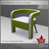 Trompe Loeil - Contempo Chair Green [mesh]