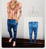 CREDO - 'Biker Jeans' Light Blue