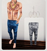 CREDO - 'Biker Jeans' Gray