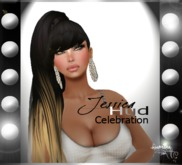.:{Rumina}:. Jessica Mesh Hair - Red Ombre Scale