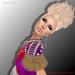 Vanity Hair:Opium-Dark Blonds(PART.MESH)