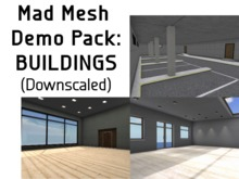 DEMO: Mad Mesh Buildings (downscaled)