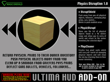*Ultima HUD ADD-ON* Physic Disruption 1.01