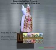 *S-A F* Spring Bouquet Dress