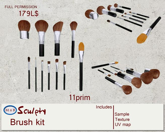 *~M`n B~* Brush kit (box)